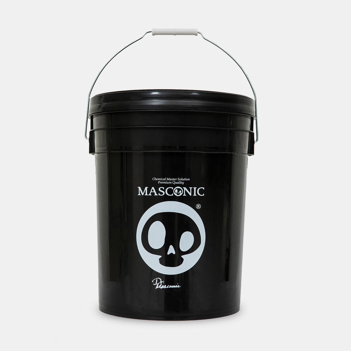 매스코닉 워시버킷 20L 블랙